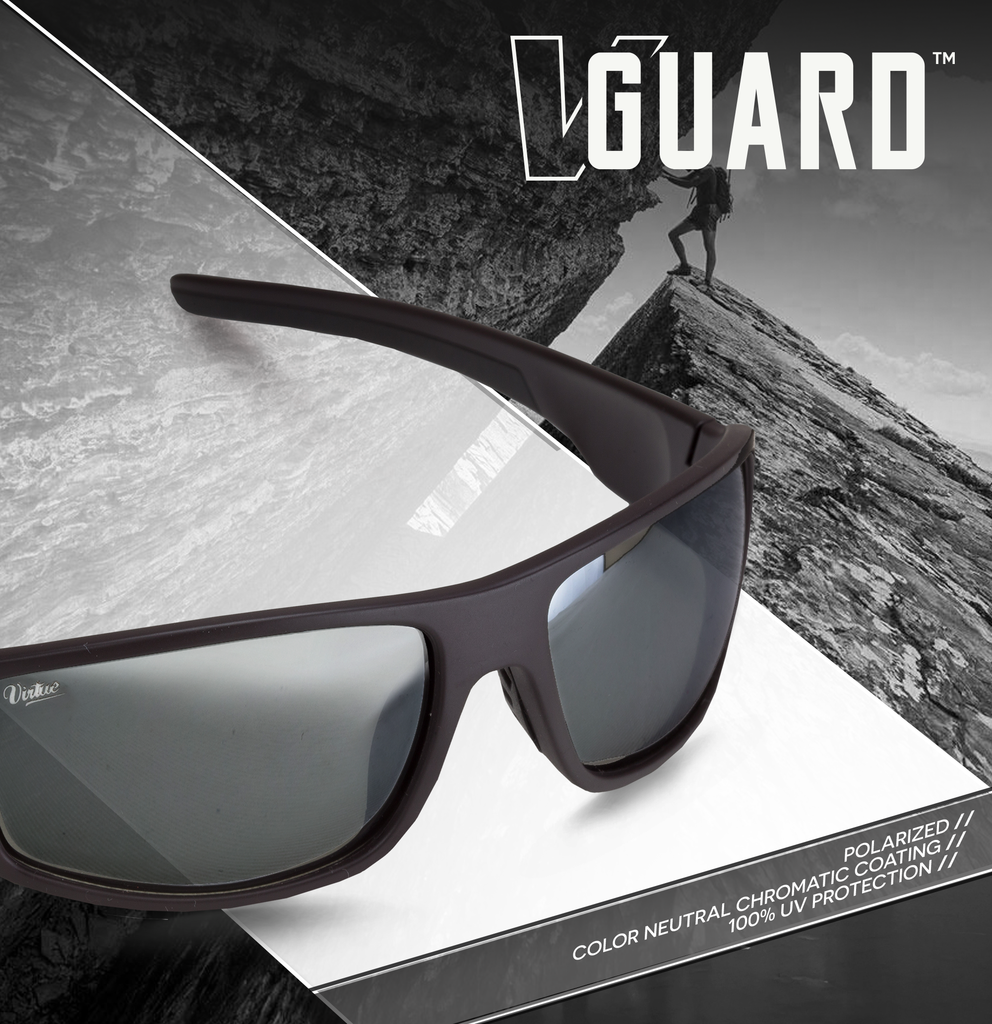 9670a3e224b Virtue Sonnenbrille - V Guard stealth grey   silver
